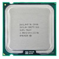 INTEL Core 2 Duo E8400 CPU Processor 3 0Ghz 6M 1333GHz Socket 775