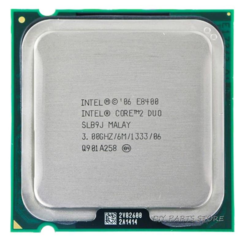 Intel core 2 duo e8400 cpu procesador (3.0 ghz/6 m/1333 ghz) socket 775 segunda mano  Se entrega en toda España