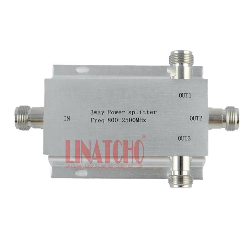 3-vägs n typ rf power divider power splitter 800-2500MHz signal - Kommunikationsutrustning - Foto 2