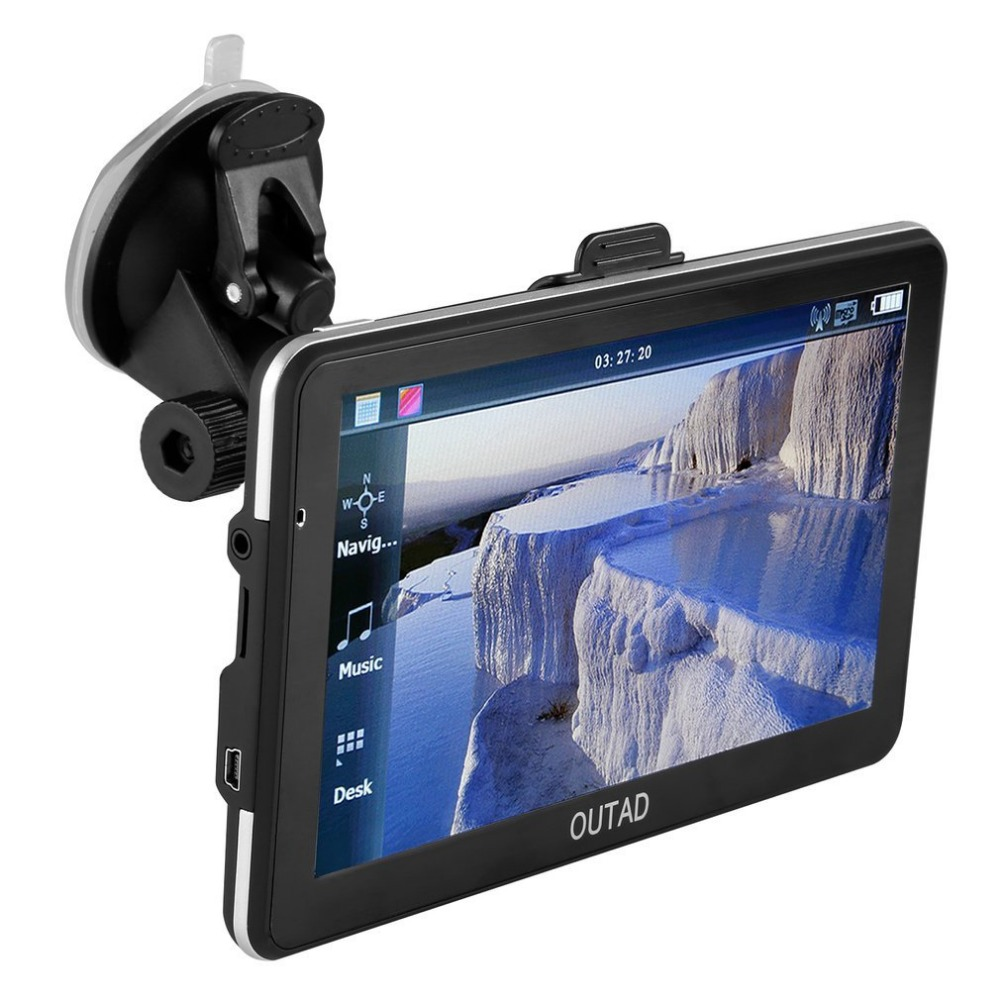 Receiver-Module Gps Navigation Screen-Display 7inch LCD with 8G Memory-Card High-Sensitivity