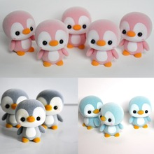 купить Penguin Doll Toy 4colors little cute 5.5CMcm small penguin little Plush Stuffed Toys gift baby toys по цене 174.23 рублей
