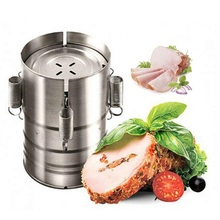 3 Layer Round Stainless Steel Ham Press Maker Machine Hamburger Making For Seafood Meat Poultry Cooked Kitchen Tools Accessory hawksmoor at home meat seafood sides breakfasts puddings cocktails