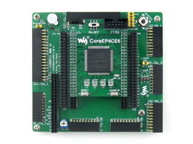 Módulo EP4CE6 EP4CE6E22C8N ALTERA Ciclone IV FPGA Desenvolvimento Bordo Kit Todos Os I/O Expander = OpenEP4CE6-C Padrão Navio Livre