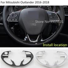 Крышка кузова автомобиля Стайлинг Руль подкладке комплект Переключатель отделка рамка светильника 1 шт. для Mitsubishi Outlander 2016 2017 2018