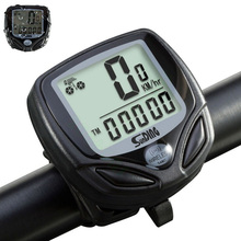 Wireless LCD Digital Cycle Computer Bicycle Bike Backlight Speedometer Odometer Waterproof Stopwatch Riding Portable Tool wired bike computer waterproof backlight bicycle computer digital speedometer cycle velo computer odometer 2a24