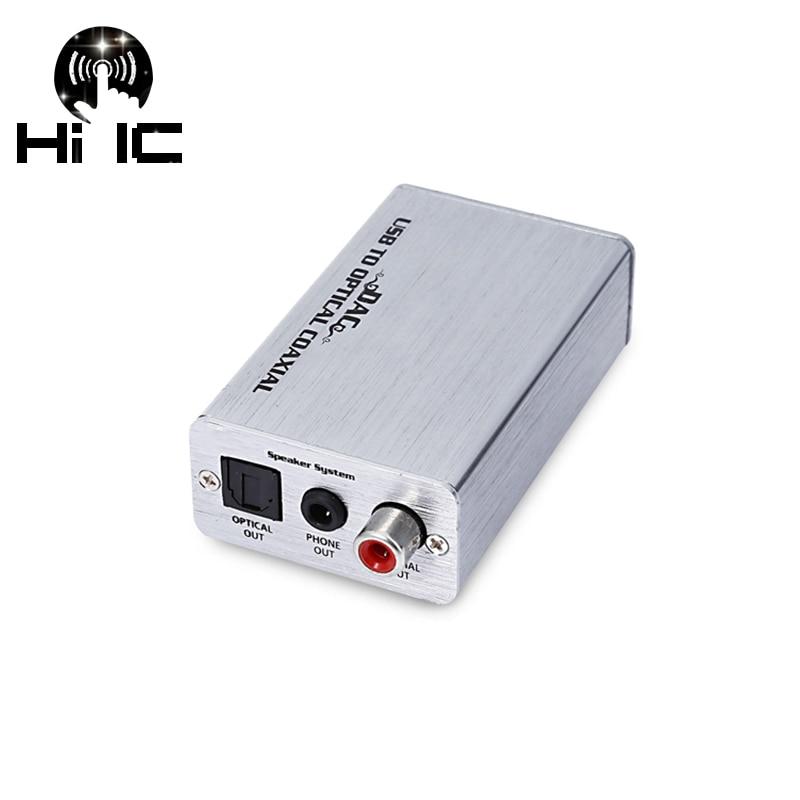 FäHig Usb Externe Soundkarte Dac Digital Audio Decoder Verstärker Kopfhörer Amp Verstärker Asio Soundkarte Koaxial Optische 3,5mm Ausgang Ein Kunststoffkoffer Ist FüR Die Sichere Lagerung Kompartimentiert Digital-analog-wandler Tragbares Audio & Video