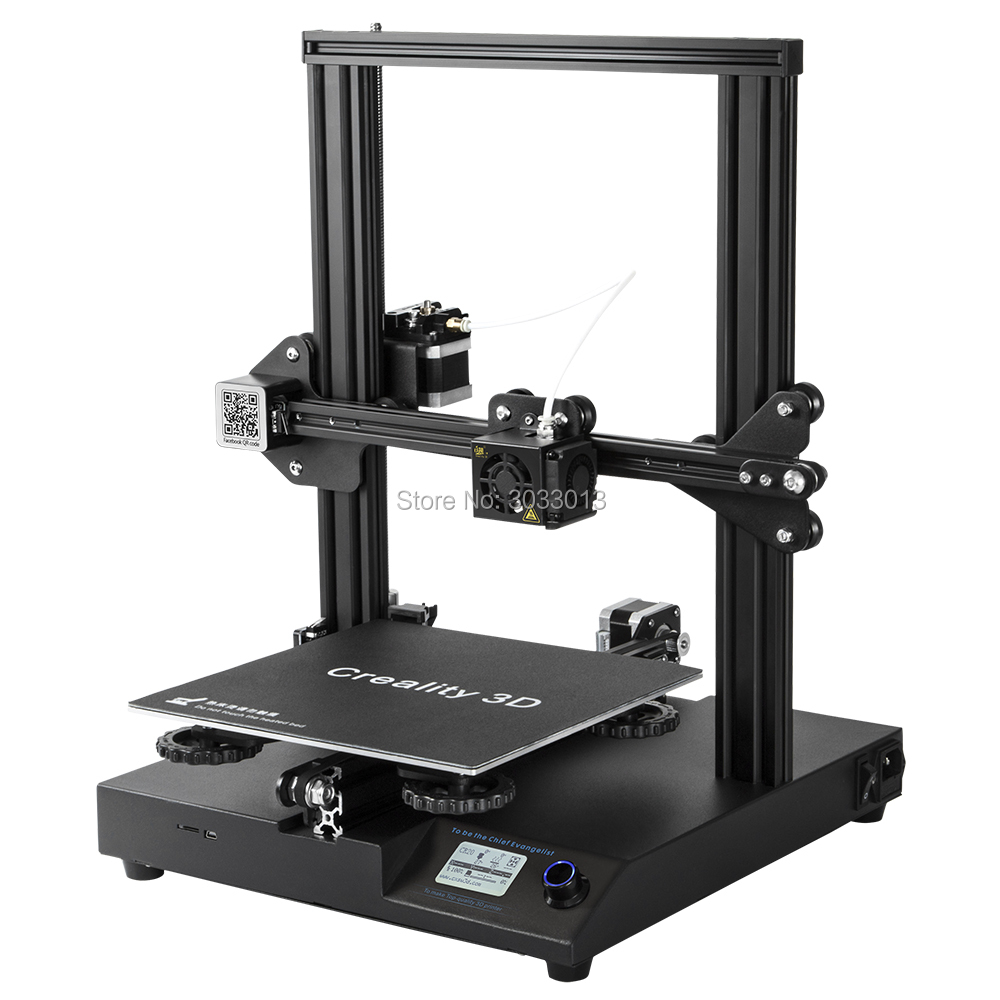 CR-20 3D Printer MK-10 Extruder 220*220*250mm V2.1 Upgrade Continuation Print of power with 200g filament as a gift Creality 3D taste a 200g