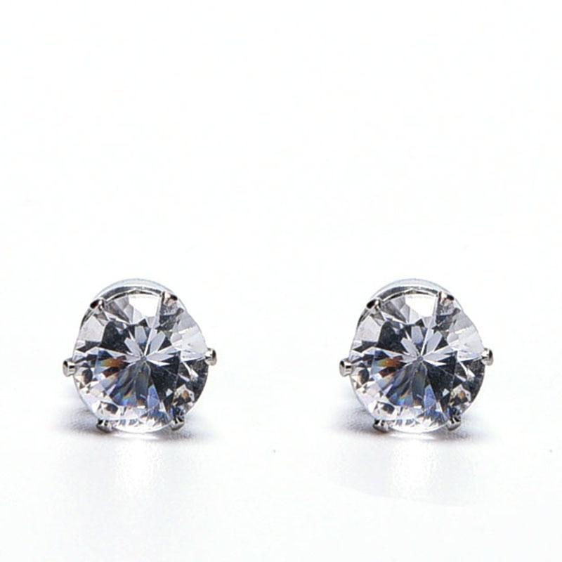 Womens Elegant Bow Cat Crystal Rhinestone Ear Stud Earrings Jewelry Gift STUK