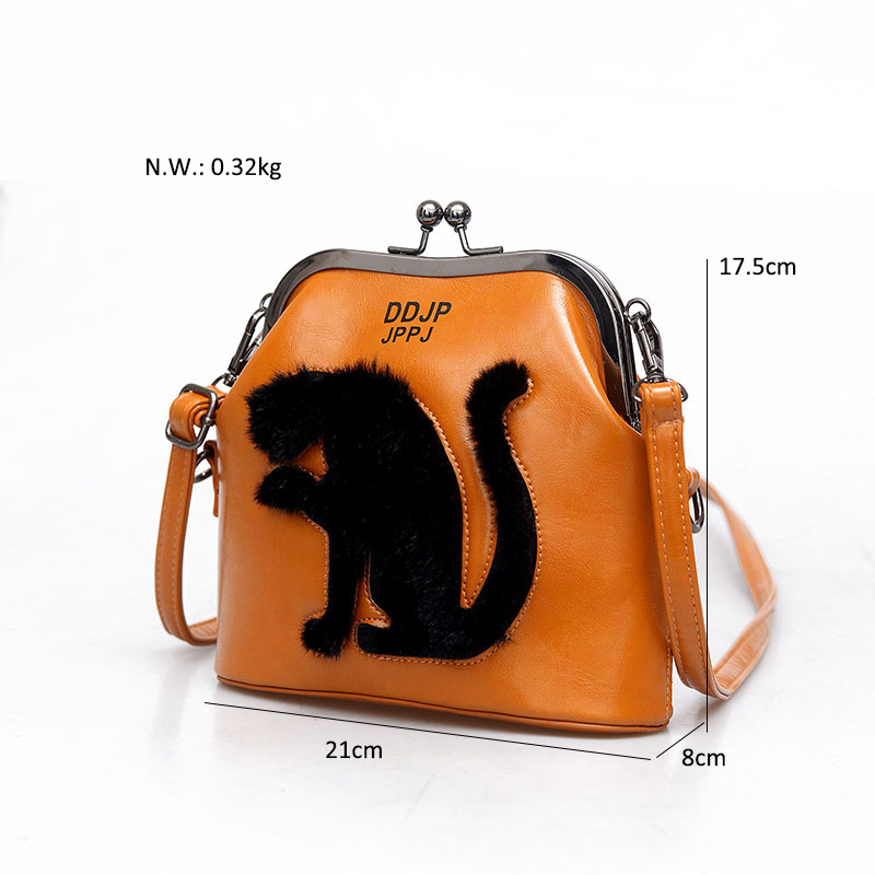 2017 Women Party Bags Cat Bag Ladies Cross Body Bag Women Bags Shoulder & Handbags Messenger Bags Female Leather Shoulder Bags (1)