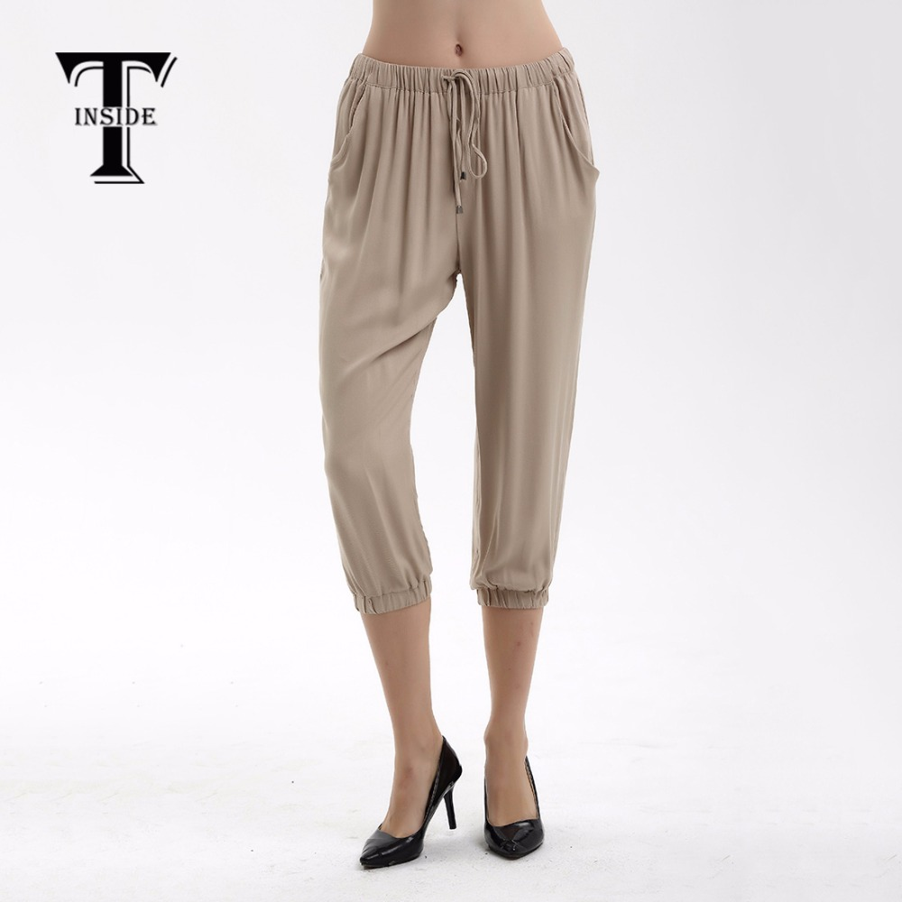 T-inside1218 2018 Summer Trousers For Women Elmer Mr Wonderful Shose Women Joggers Women Fake Designer Clothes Pants Female