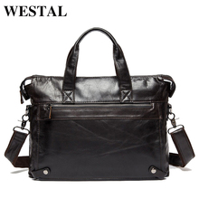 Men's Genuine Leather Handbag
