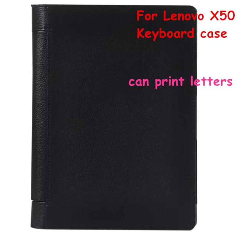 Für Lenovo Yoga Tab 3 X50 Tab3 X50F X50M X50LTablet Tragbare Bluetooth Tastatur Muti-angle Folio PU Ledertasche + Filme