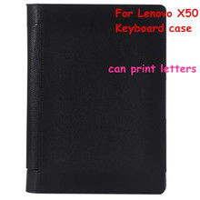 For  Lenovo Yoga Tab 3 X50 Tab3 X50F X50M X50LTablet Portable Bluetooth Keyboard  Muti-angle Folio PU Leather Case Cover + Films все цены