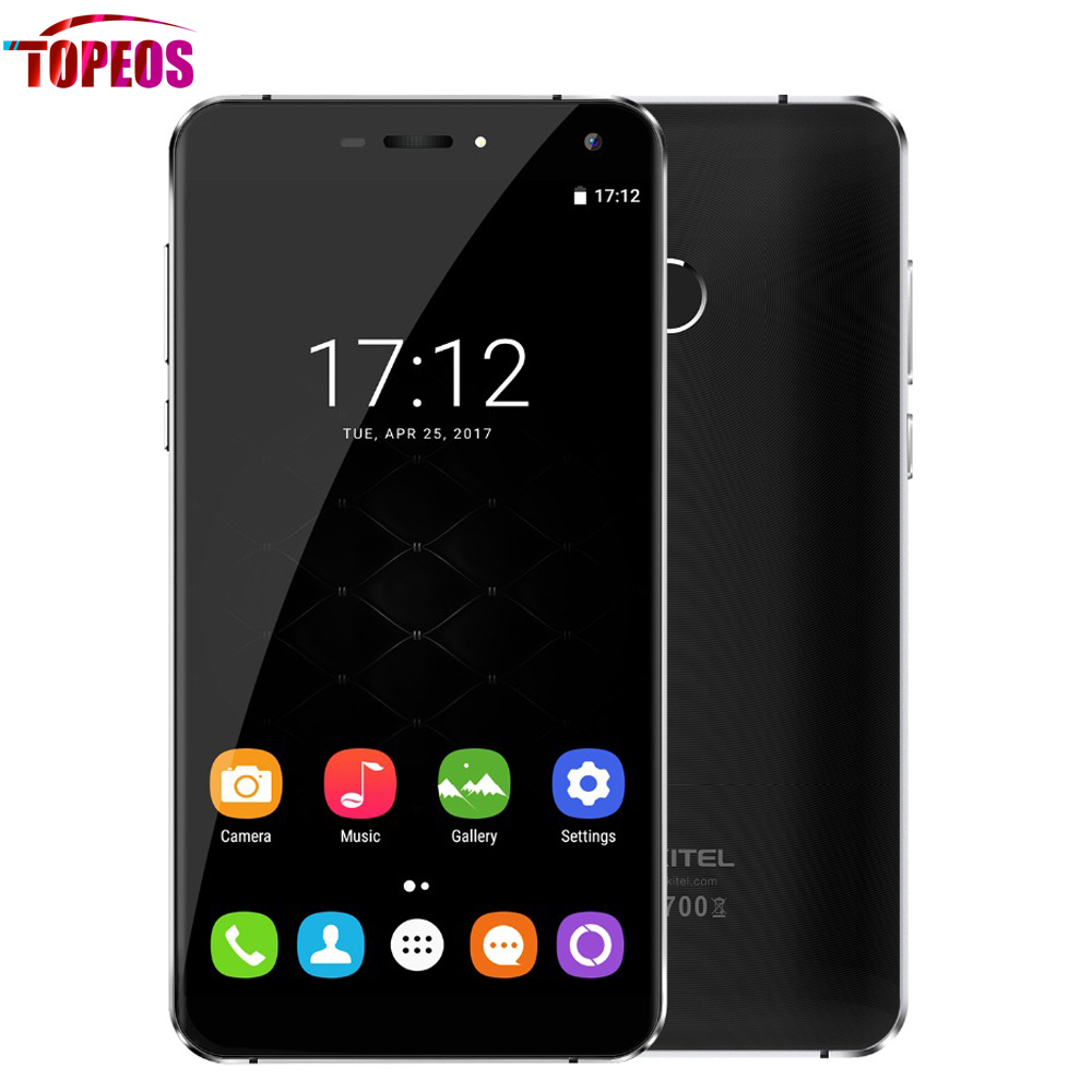 5.7 inch Oukitel U11 Plus MTK6750T Octa Core 4G Smartphone Android 7.0 4G RAM 64G ROM 720P 13MP 3700mAh Fingerprint Cell phone