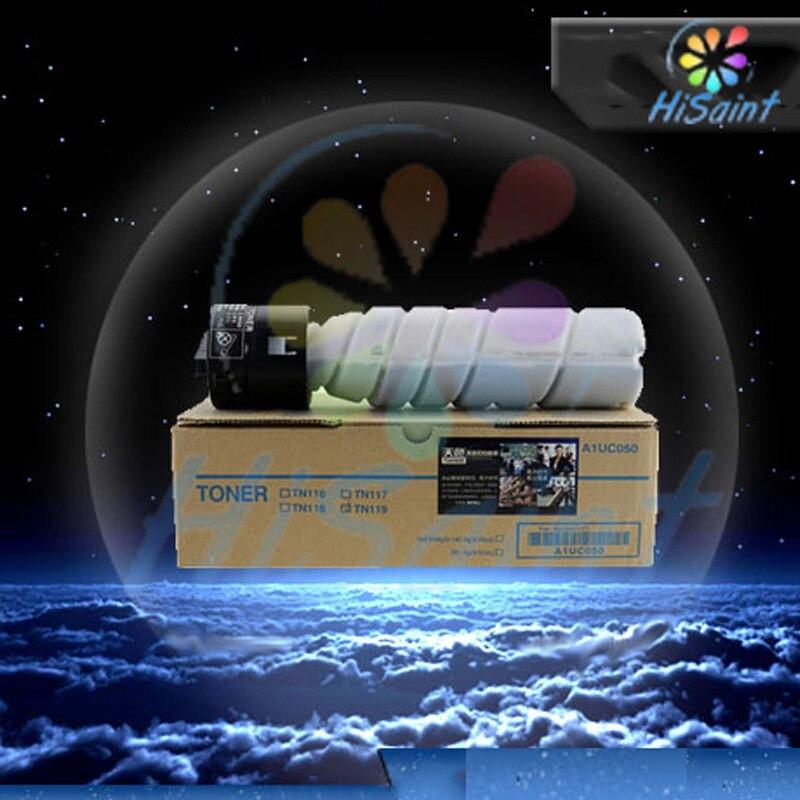 hisaint New 1PK Compatible TN116 / TN117 / TN118 / TN119 Toner For Konica Minolta 7719 Toner Supplies Free shipping new original toner sensor for konica minolta k7020 7022 7025 7030 7035 7130 7135 7145 7222 7228 7235 26na88041 26na88040