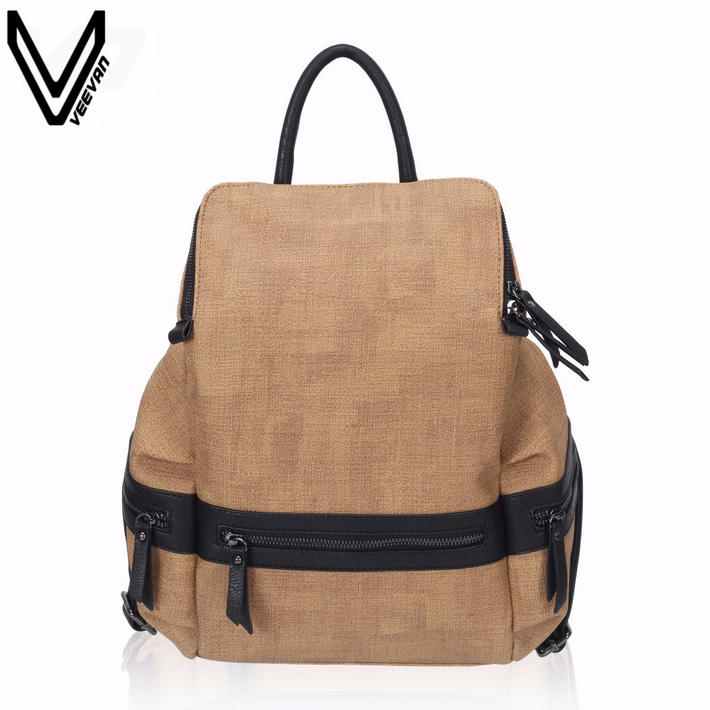 VN 2016 Vintage Casual Women Daily Backpack Campus Canvas Bags Woman Shoulder Bag Canvas Bags For Teenagers Girl Travel Rucksack