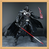 28CM Star Wars Action Figure Playarts Kai Darth Vader Toys Collection Model PVC Star Wars Vader Play arts Kai