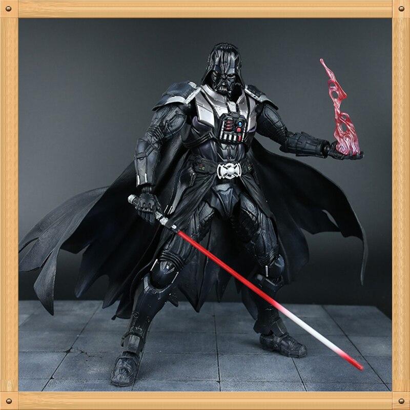 Figurine d'action Star Wars 28 CM Playarts Kai dark vador jouets Collection modèle PVC Star Wars vador jouer arts Kai