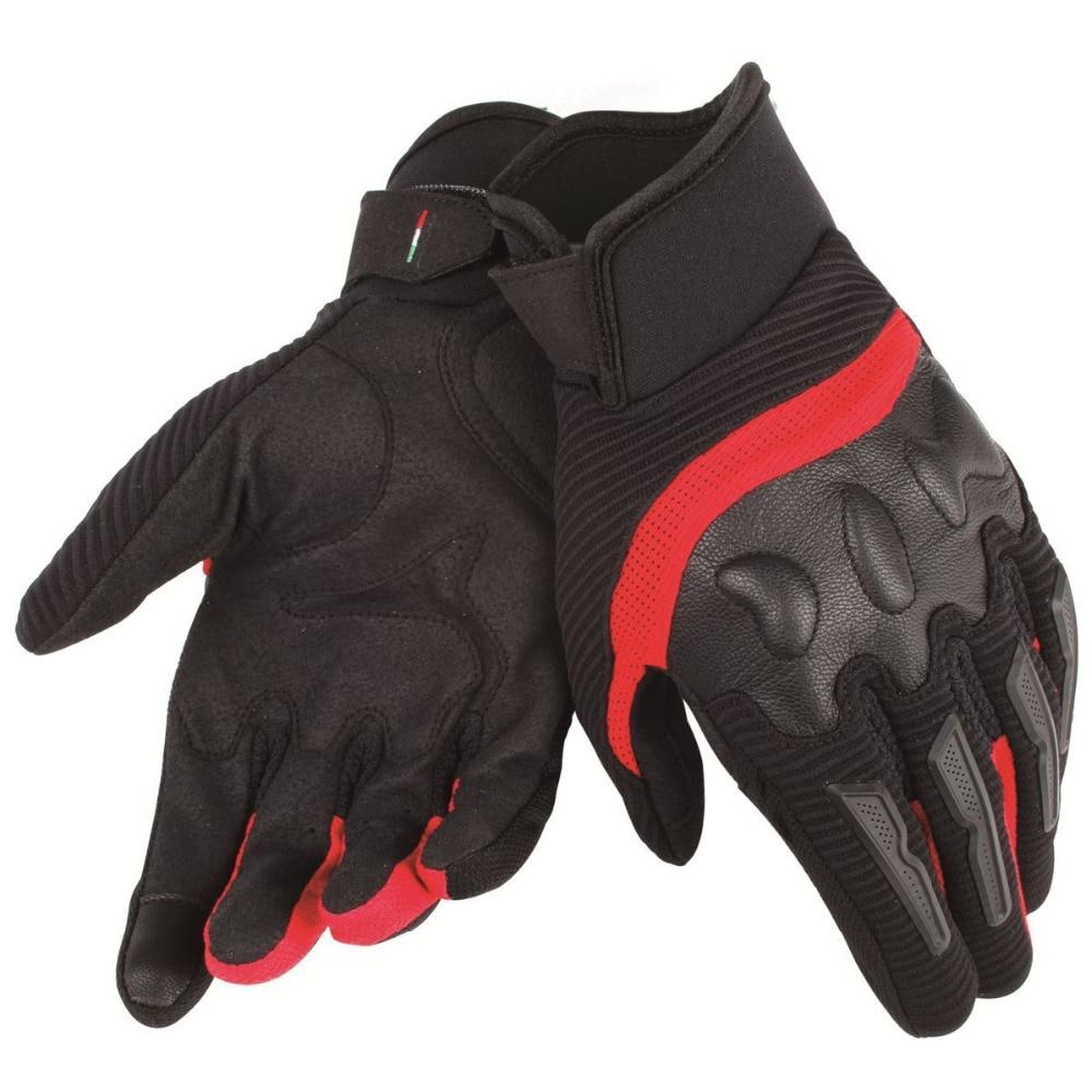 2018 Dain Motorcycle Air Frame Gloves MX Off-Road Dirt Bike Motocross Gloves Black/Red