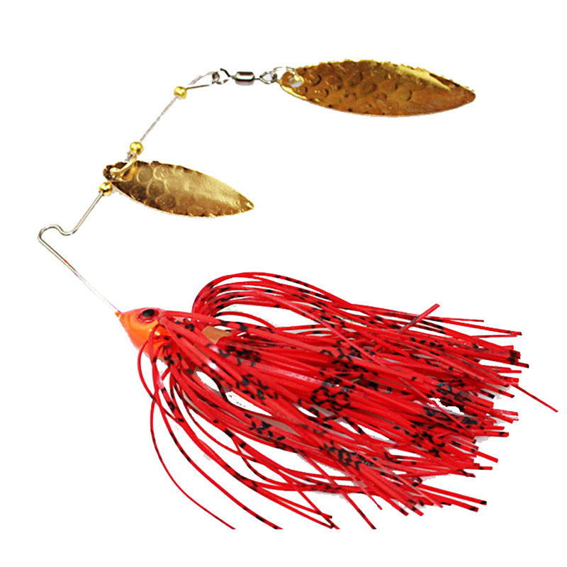 1PCS Spinner Bait Fishing Lure Spoon Fresh Water Shallow Water Bass Minnow Spinnerbait Lures wldslure 1pc 54g minnow sea fishing crankbait bass hard bait tuna lures wobbler trolling lure treble hook