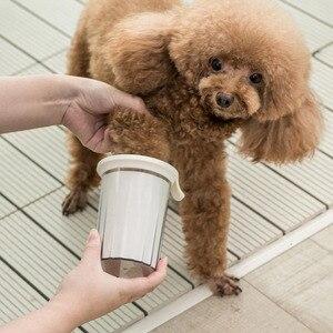 Image 5 - Щетка Xiaomi для мытья питомцев, безопасный и мягкий силикон, легко чистится, ведро для мытья кошек и собак, для дома