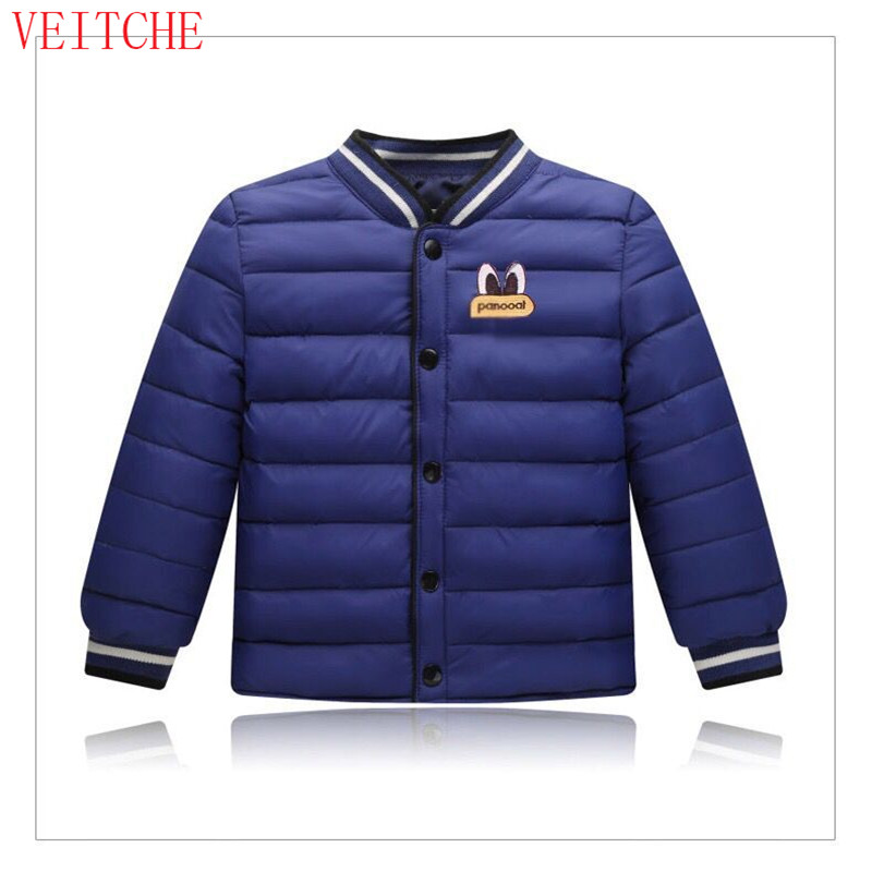 цены  Brand Winter Jackets for Children Girls Boys Soild Thicken Warm 80% White Duck Down Coats Baby Kids Outerwear Clothes 85-145cm