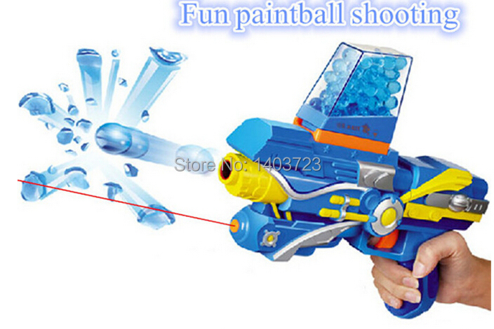 HOT 2018 free shipping soft crystal water paintball bullet gun toys  bibulous water Guns accessories 7 Colors 10000pcs-in Toy Guns from Toys &  Hobbies on ...