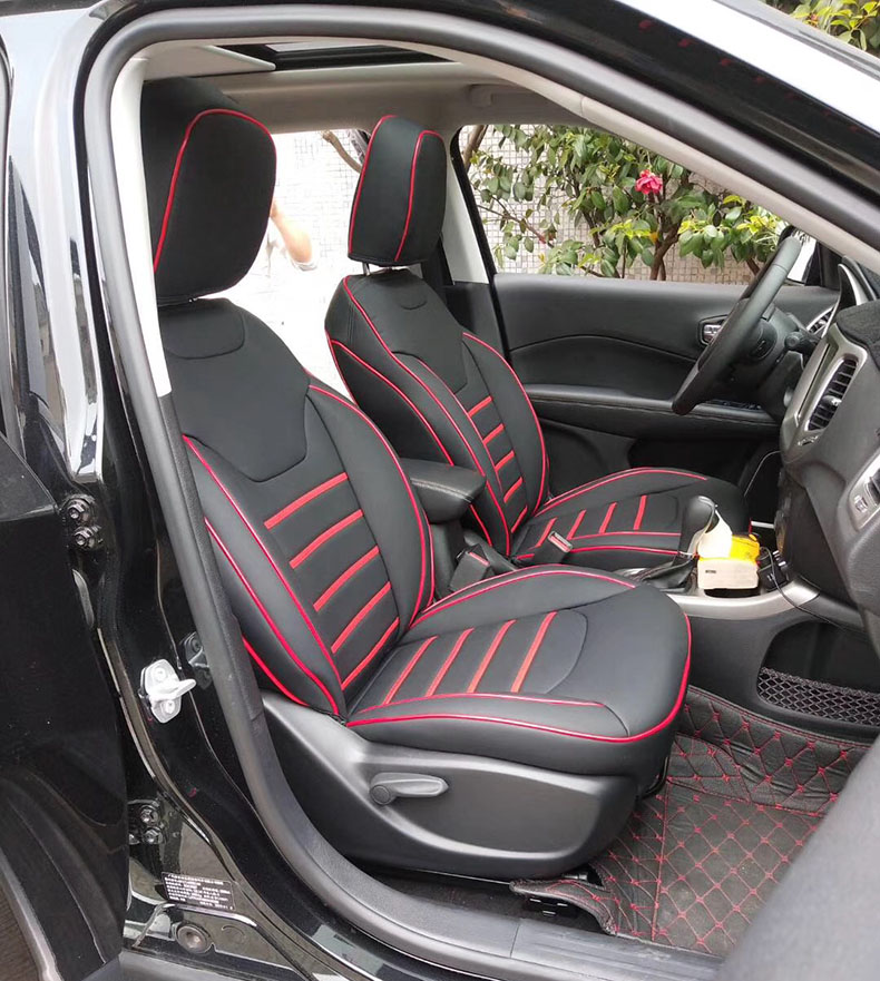 Outstanding Us 201 76 48 Off Custom Car Seat Cover Leather For Jeep Wrangler Jk Accessories Cushion Seats Supports 2007 2017 2 Doors 4 Doors Car Accessories In Gamerscity Chair Design For Home Gamerscityorg