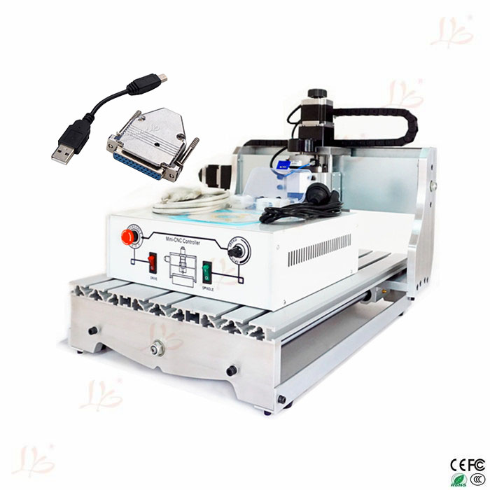 Free tax to Russia CNC 3040 wood carving machine mini engraver cnc 1610 with er11 diy cnc engraving machine mini pcb milling machine wood carving machine cnc router cnc1610 best toys gifts