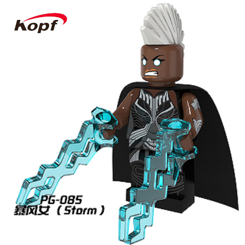Pg8019 Super Heroes X-Man Дакен Магнето Ангел Wolverine ползун Апокалипсис archangle шторм строительный Конструкторы детей Игрушечные лошадки