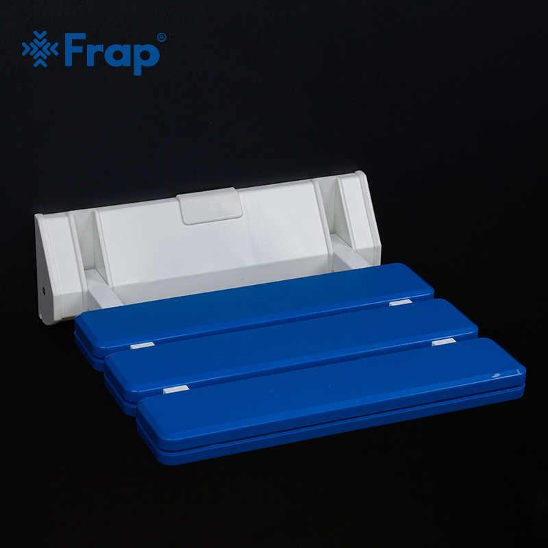 Frap Новый 1 комплект складное настенное сиденье для душа, настенный стул для релаксации, однотонное сиденье, спа-салон, экономия пространства для ванной комнаты Y501