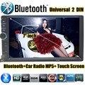 7 дюймов 2 DIN HD Сенсорный Экран Универсальный В Тире Автомобильный Радиоприемник стерео Головное устройство MP5 MP4 MP3 bluetooth Видео Авто Стерео в тире TF/USB