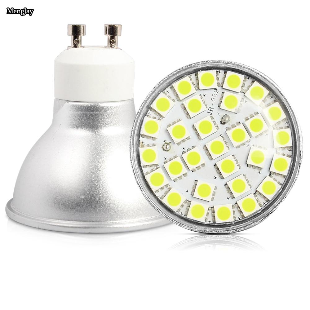 Lampe spot LED Ampoule Led GU10 3000 K 6500 K Blanc Chaud blanc froid 5.5 W ampoule remplacer 50 w Halogène lampe à économie d'énergie lampe