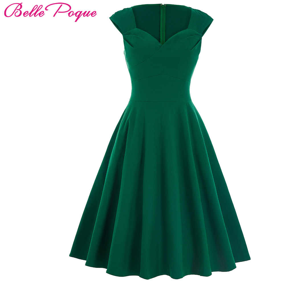 7b0c07f9b6897 Detail Feedback Questions about Belle Poque Vintage 50s Dress Women ...