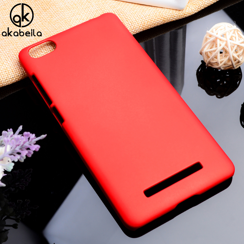 AKABEILA Phone Covers Cases For Xiaomi Mi4i Mi4C X9 Case M4C 4C M4i Mi 4i Cases Matte Hard Plastic Durable Shell Back Housing