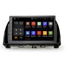 Android reproductor de Radio de Coche para mazda CX-5 CX5 5.1.1 cabeza unidad GPS enlace espejo navegador navi radio unidad Principal Quad cable