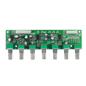 Image 3 - GHXAMP 5.1 préamplificateur tonalité canal indépendant Volume + réglage de fréquence basse 6 voies pour 5.1 amplificateur bricolage DC12 24V nouveau