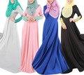 Abaya ropa islámica musulmán de las mujeres de largo caftán burka maxi señora dress de oriente medio