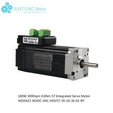 купить JMC NEMA 23 servo motor 180W 3000rpm 0.6Nm 57 Integrated 36VDC iHSV57-30-18-36-01-BY по цене 9362.61 рублей
