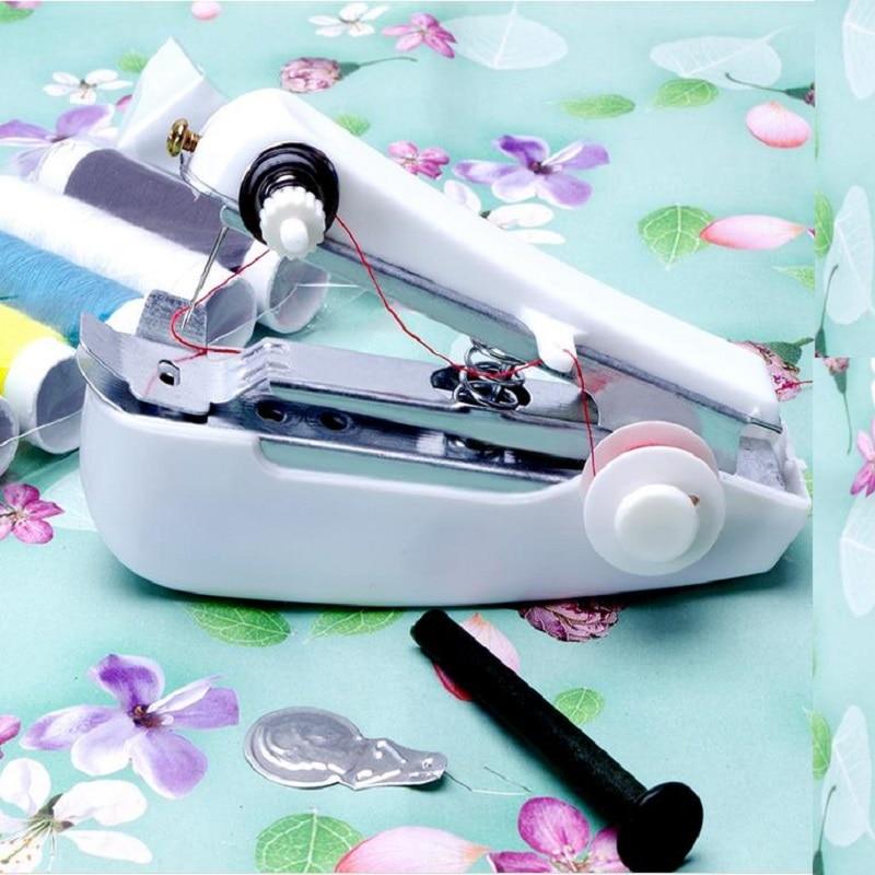 2017 new portable small multi-function mini sewing machine home handheld mini sewing machine manual sealing machine maquina de coser de mano