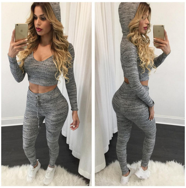 women c's clothing Sets Running Gym Sports za fitness Top
