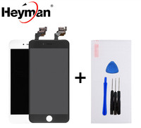 Heyman (5pcs/lot) LCD For Apple iPhone 6 6 Plus LCD Display Screen Assembly With Digitizer Glass DHL Free high quality