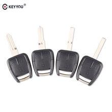 KEYYOU 3 Taste Auto Schlüssel Remote Fall Shell Fall Abdeckung Fob Für Chevrolet Opel Mit YM-28/HU46/HU43/SIP Klinge oder HU100 Schlüssel Klinge