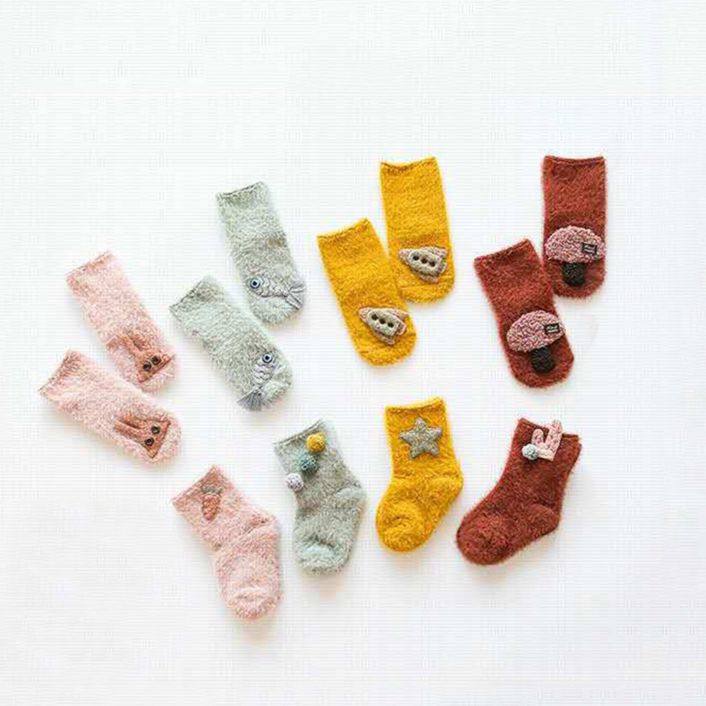 Socks & Tights Girls' Baby Clothing Official Website Muqgew Cartoon Anti-slip Sock Shoes Boots Slipper Socks For Kids Toddler Baby Socks For Girls With Animals Kinder Sokken Calzini 50% OFF