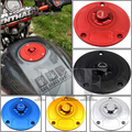 Motorcycle CNC Aluminum Fuel Gas CAPS Tank Cap tanks Cover With Rapid Locking For HONDA CBR 600RR F5 929 954 900