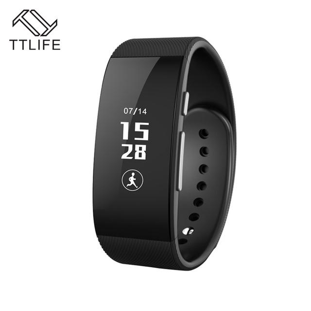 TTLIFE U3 Inteligente Pulsera Bluetooth Pantalla Táctil A Prueba de agua Gimnasio Rastreador Sleep Monitor de Salud Muñequera banda para Teléfonos Inteligentes