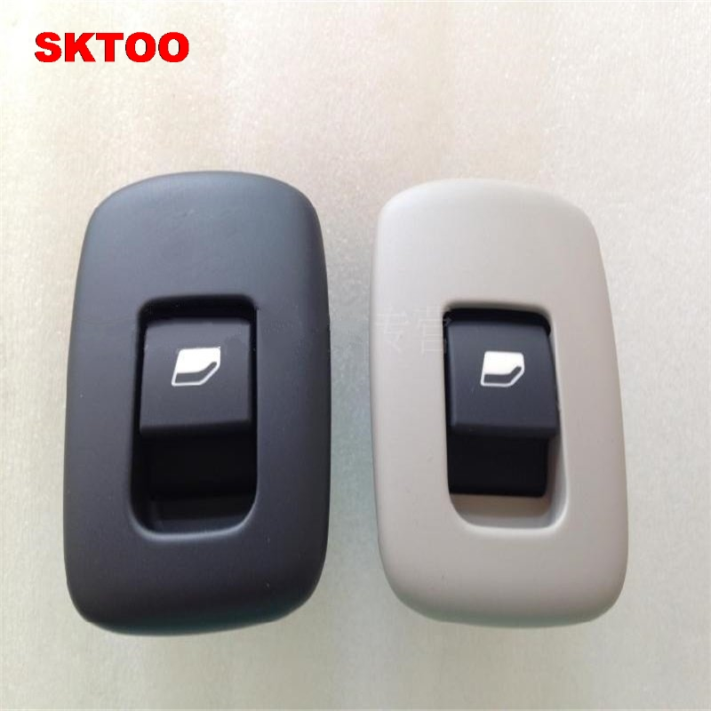 SKTOO Power Window Switch Glass Lifter Switch Window Lifter Switch For Citroen C5 Peugeot 408 508 Black/ Beige(Original Product)