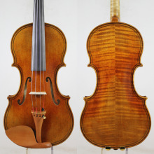 Maggini Style 4/4 Violin violino Copy!Good Projection,Open Tone !+ Free Case, Bow, Rosin,Shipping!Aubert Bridge!