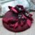 Borgonha elegante Chapéus De Noiva 2016 com Grampo de Cabelo Do Casamento Acessórios Do Casamento para Noivas Véus Chapéus Birdcage Véus headpiece H37