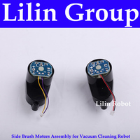 For KK8 Side Brush Motors Assembly For Vacuum Cleaning Robot Including Left Motor Assembly X